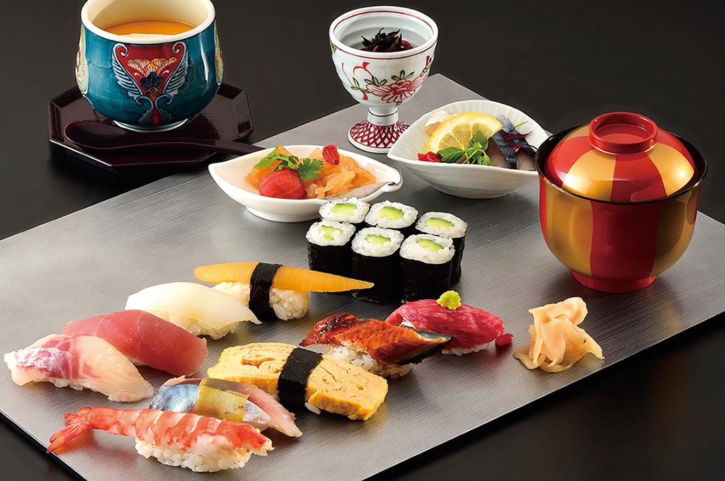 寿司ランチコース